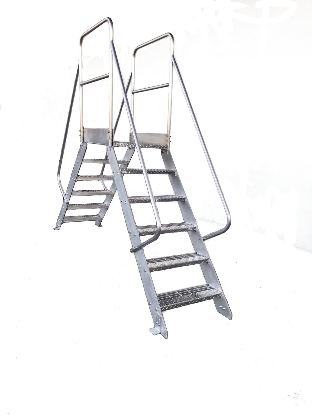 Aluminum Crossover Ladder Custom Made Ladders