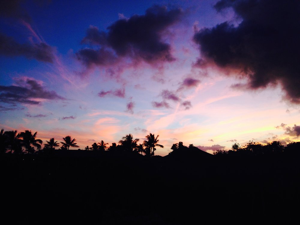 Last night in Poipu.