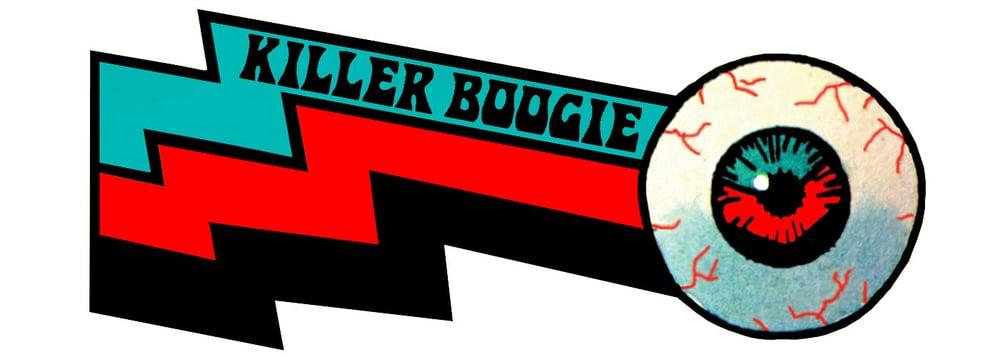 STARCADE DESIGNS FOR KILLER BOOGIE / LOGO DESIGN /©KILLER BOOGIE