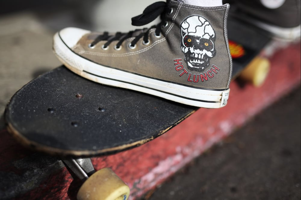STARCADE DESIGNS FOR CONVERSE - FEATURING HOT LUNCH / PHOTO BY CHARLIE CARR / ©HOT LUNCH  .