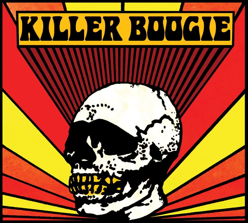 STARCADE DESIGNS FOR KILLER BOOGIE / LOGO DESIGN, FRONT COVER /©KILLER BOOGIE