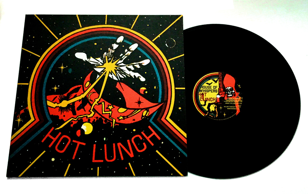 DESIGN AND LAYOUT FOR PRINT FOR HOT LUNCH LP / HEAVY PSYCH SOUNDS / ©HOT LUNCH