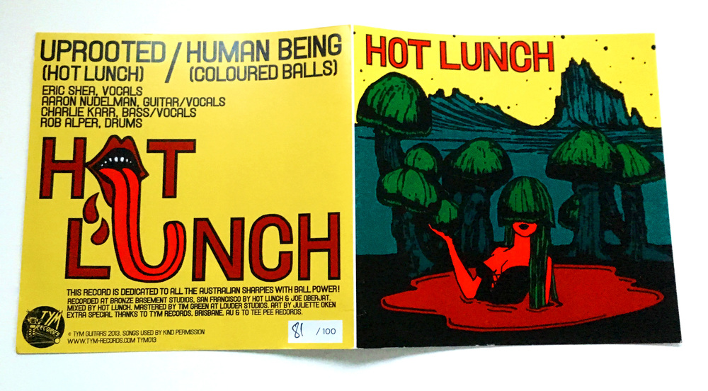 STARCADE DESIGNS FOR HOT LUNCH 45 / TYM GUITARS, AUSTRALIA