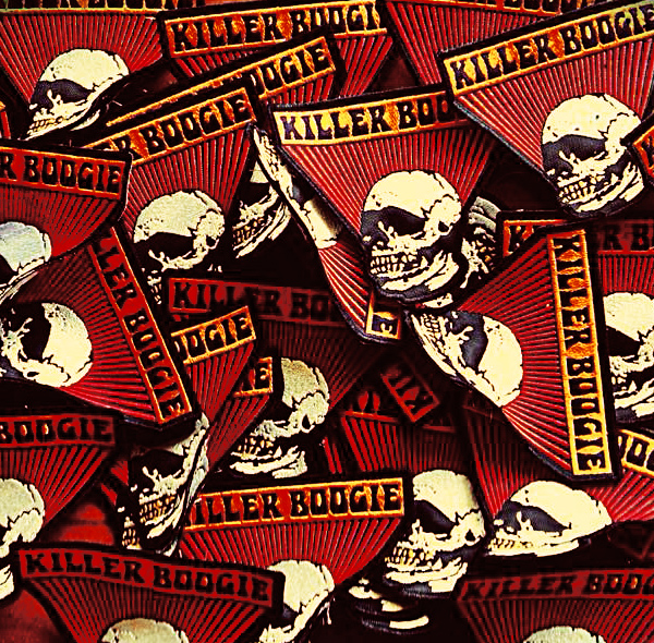 DESIGN FOR KILLER BOOGIE / USED FOR EMBROIDERED PATCH / ©KILLER BOOGIE