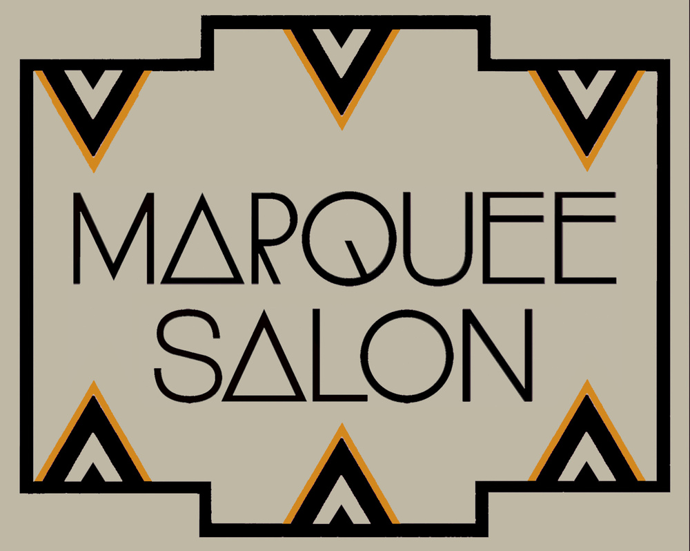 TARCADE DESIGNS FOR MARQUEE SALON / SIGNAGE DESIGN FOR COPPER LEAF APPLICATION / ©MARQUEE SALON     .