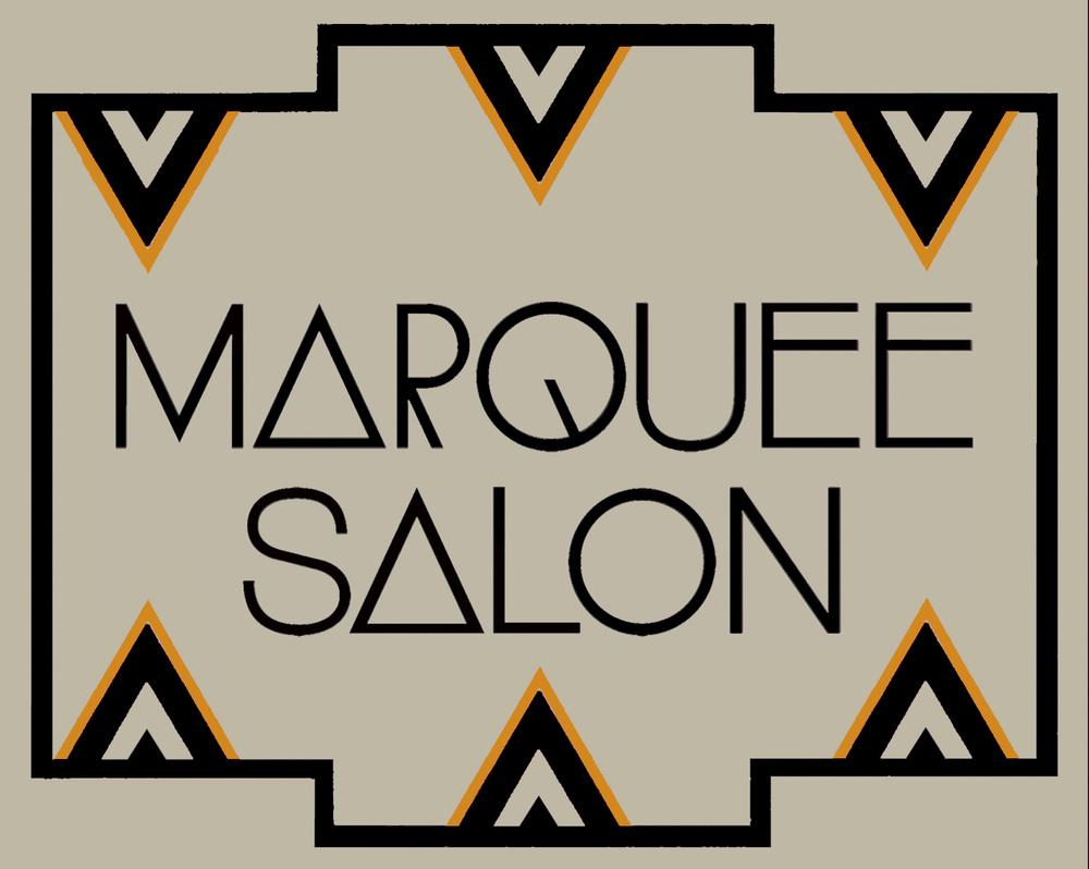 TARCADE DESIGNS FOR MARQUEE SALON / SIGNAGE DESIGN FOR COPPER LEAF APPLICATION /©MARQUEE SALON