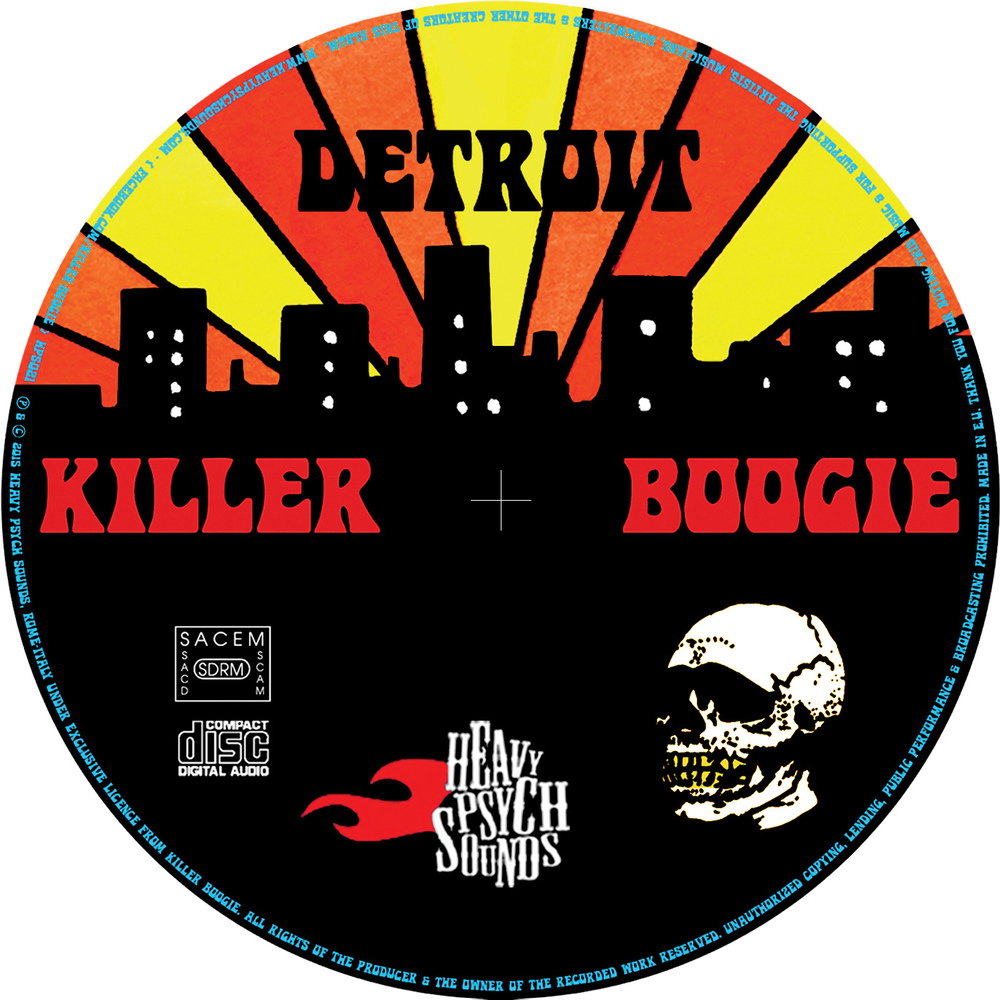 STARCADE DESIGNS FOR KILLER BOOGIE, FOR DISC PRINT /©KILLER BOOGIE