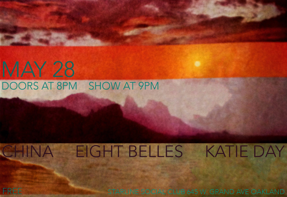 STARCADE DESIGNS FOR EIGHT BELLES / EVENT FLYER        .           .