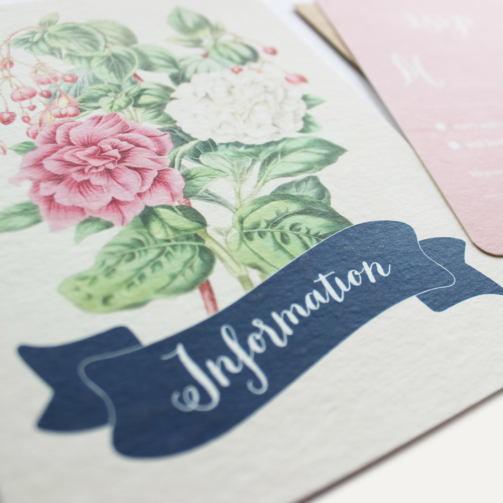 cotton paper + flat printing