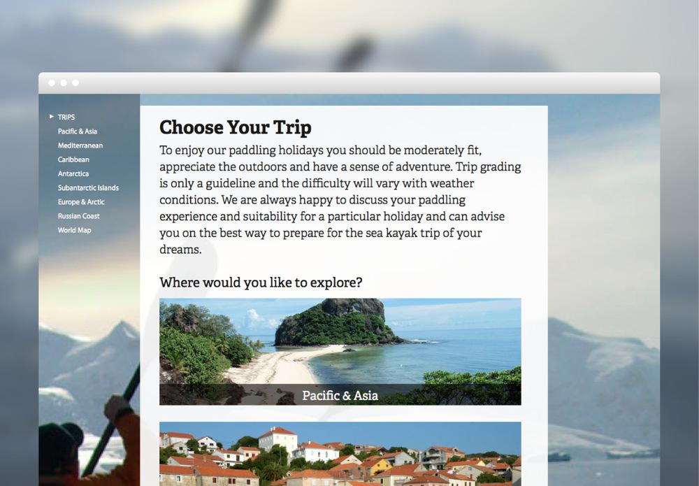 SSV choose your trip