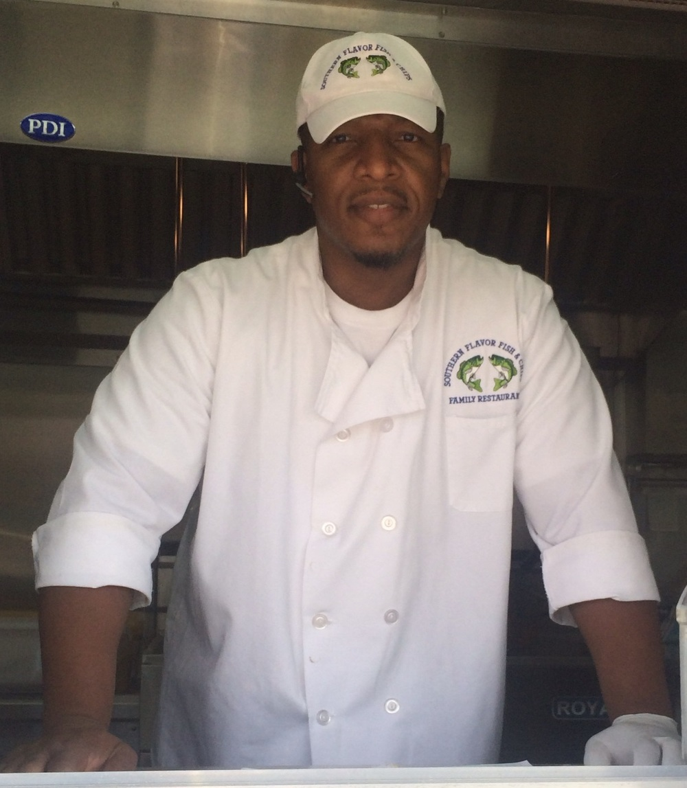 Sonny Inc.'s Southern Chicken, Shrimp & Fish Fry     Andre' Hutchinson, CEO/Owner