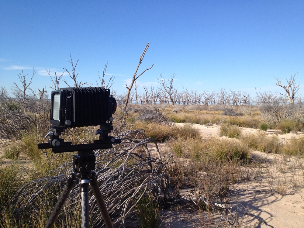 My camera at Lake Menindee