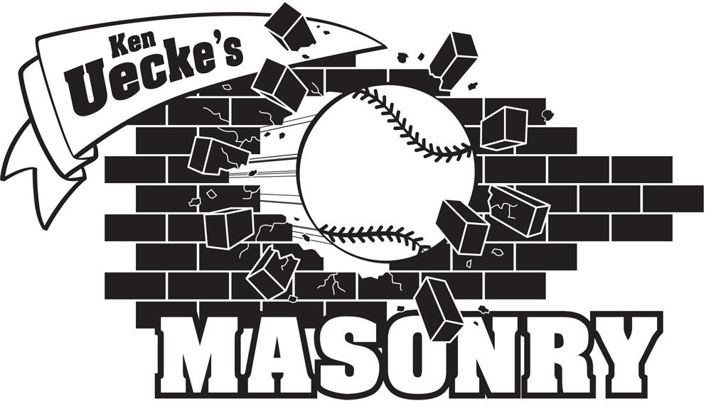 Ken Uecke's Masonry  Annual softball tournament - team t-shirts