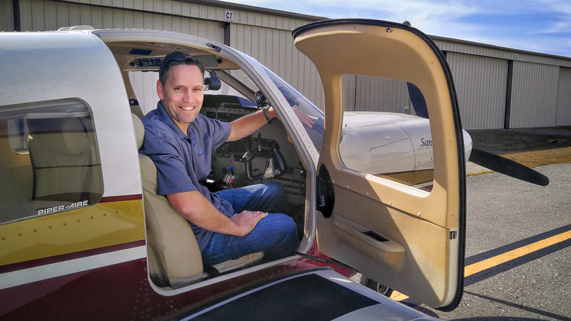 Piper Saratoga - Angel Flight