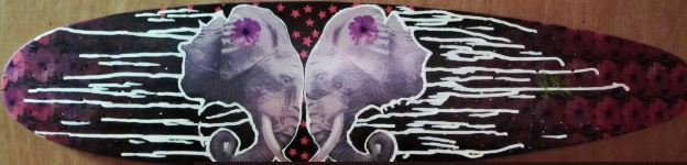 Elephants, longboard
