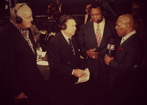 Gerry Cooney, Mike Mittman, Larry Holmes, Mike Tyson