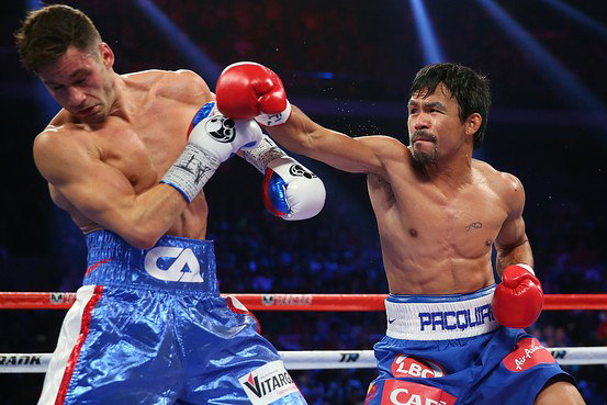 Manny Pacquiao vs.Chris Algieri | Photo by: Michael Howard| CC