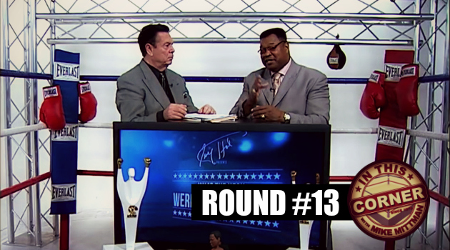 mike mittman larry holmes in this corner