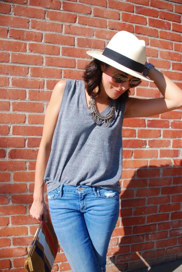 jcrewhat.motherdenim.jeans.clutch.clarevavier.jpg