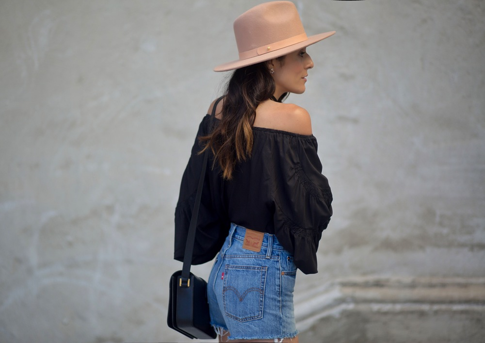 Lack-of-color-hat-levis-cut-offs-off-shoulder-top-chanel-espadrilles-fashion-blogger-streetstyle.jpg