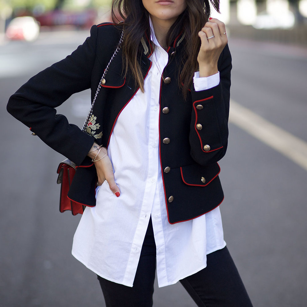 Military-jacket-with button-up shirt-Modern-streeststyle.jpg