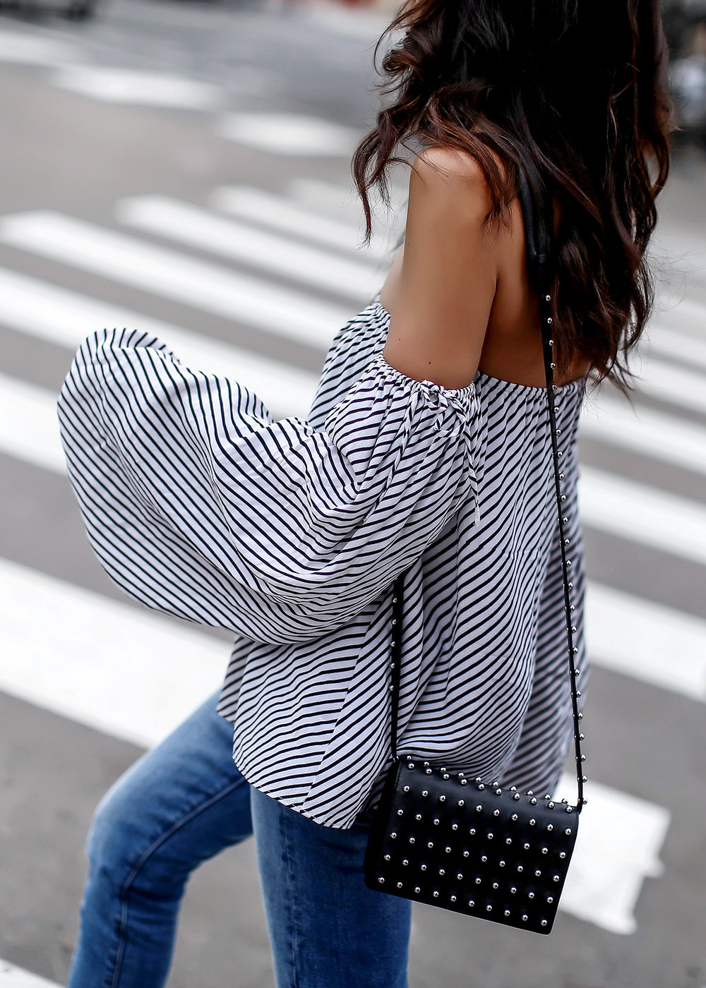 Flowy_Sleeves_Dallas_MLM_Striped_Off_The_Shoulder_Top_Alexander_Wang_Studded_Bag.jpg