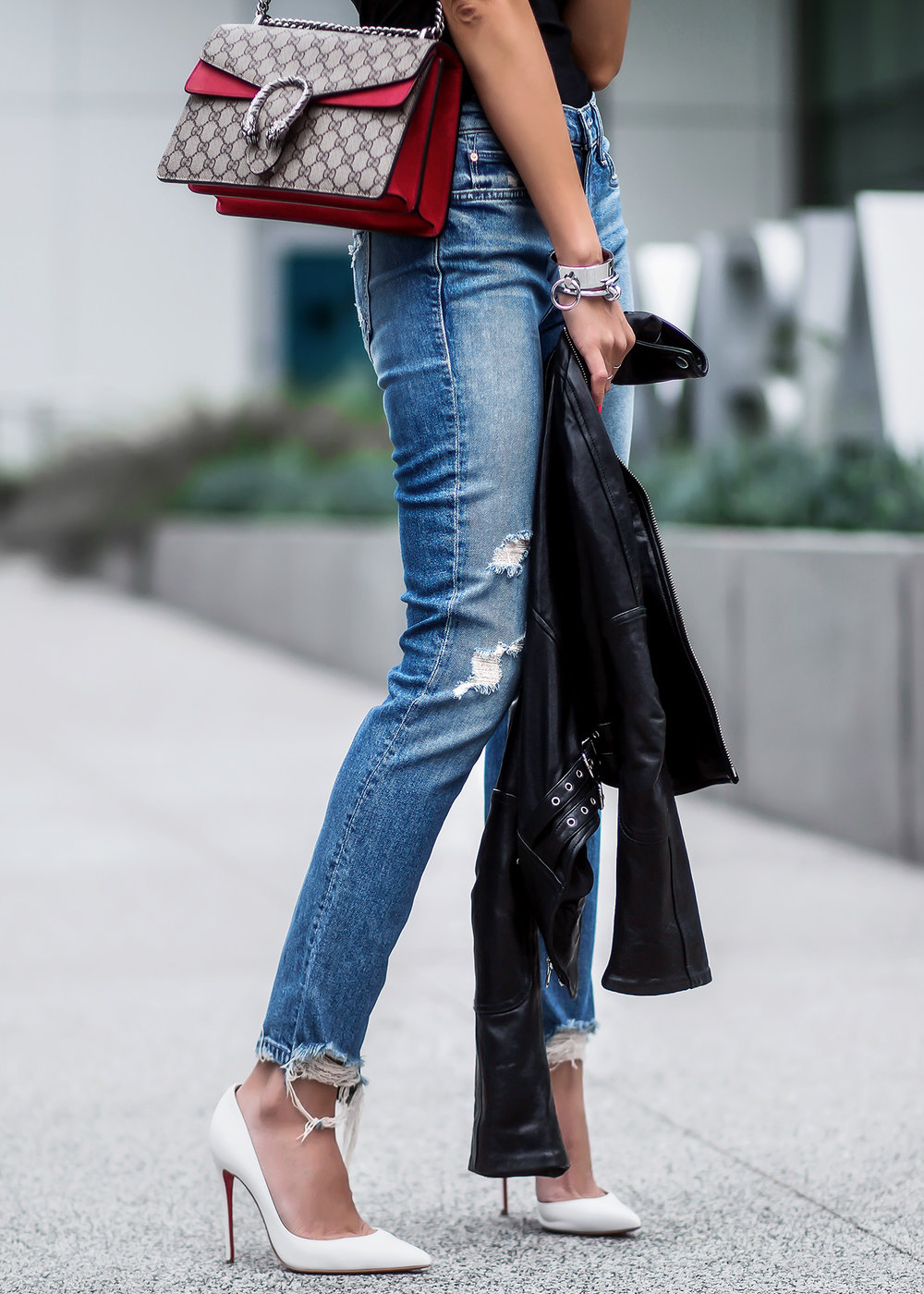 Mother_Denim_Ripped_Jeans_Gucci_Dionysus_Bag_White_Christian_Louboutin_Pumps_Black_Leather_Biker_Jacket.jpg