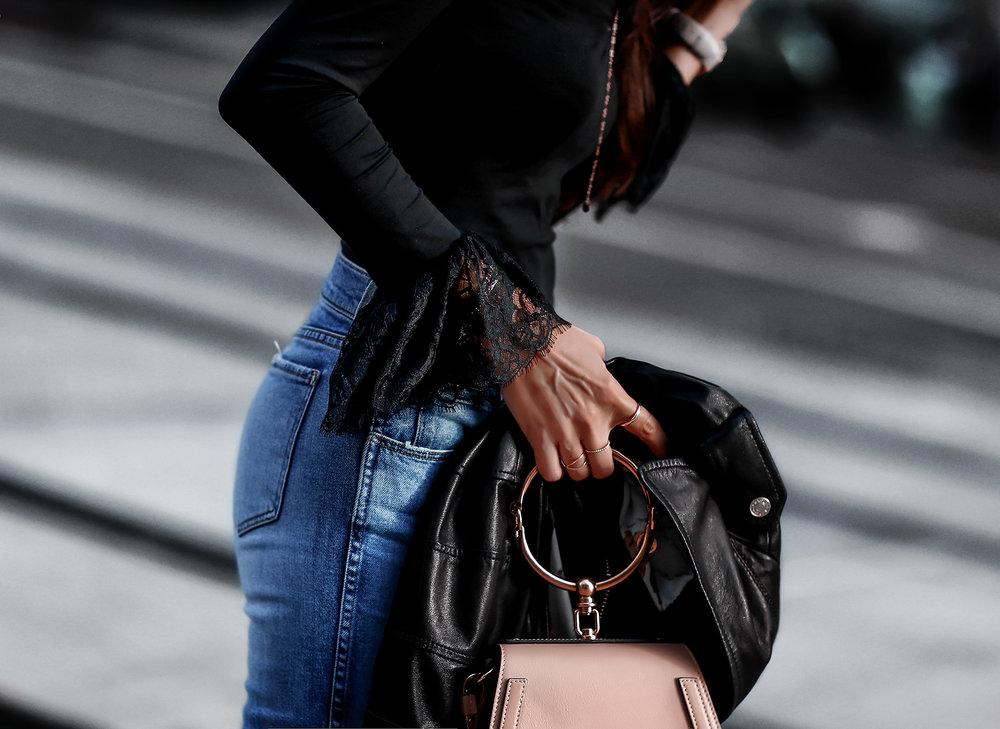 Neiman Marcus Cusp Cinq a Sept Lace Sleeve Bodysuit Chloe Nile Bag.jpg