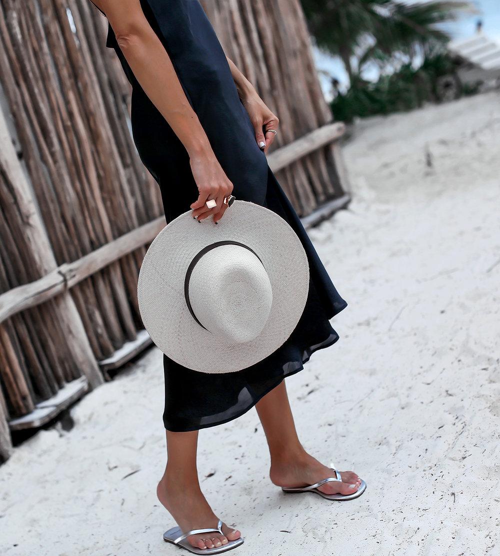 Sangria Sandals Janessa Leone Hat Beach Style in Tulum.jpg