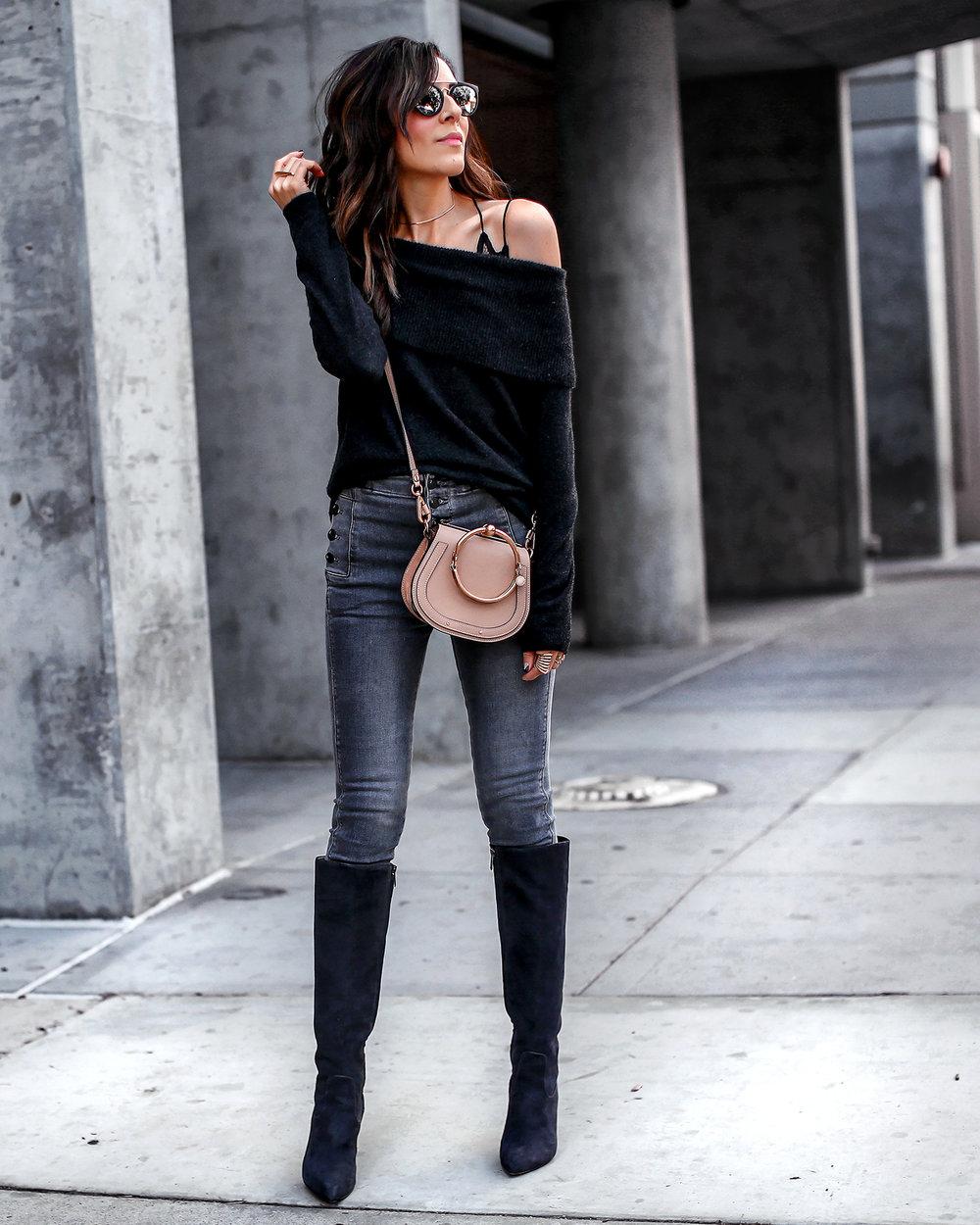 JBrand Jeans Joei Sweater Spring Fashion Sam Edelman Boots.jpg