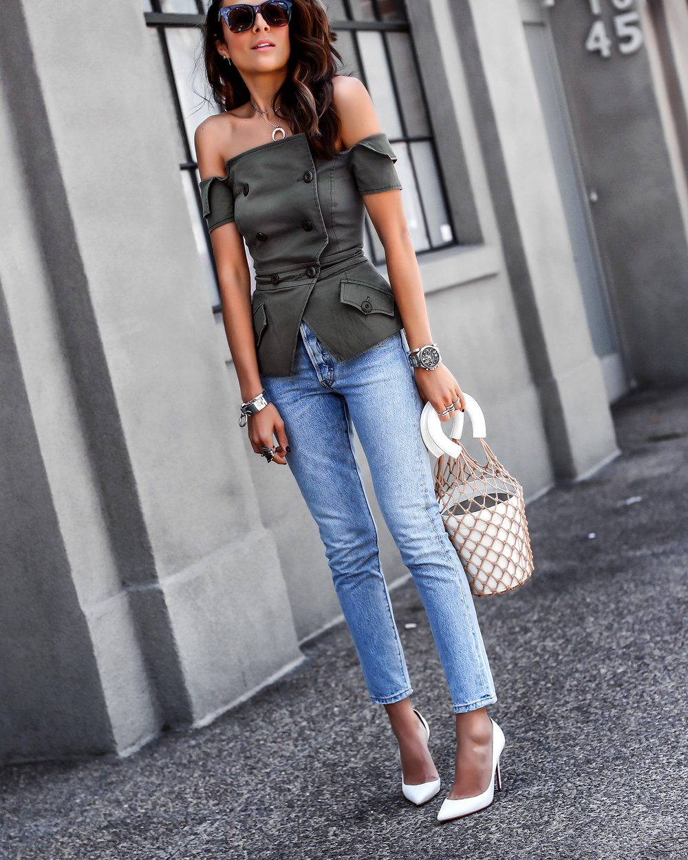 Marissa Webb Vest Levis Jeans Staud Bucket Bag Spring Fashion Must Haves.jpg