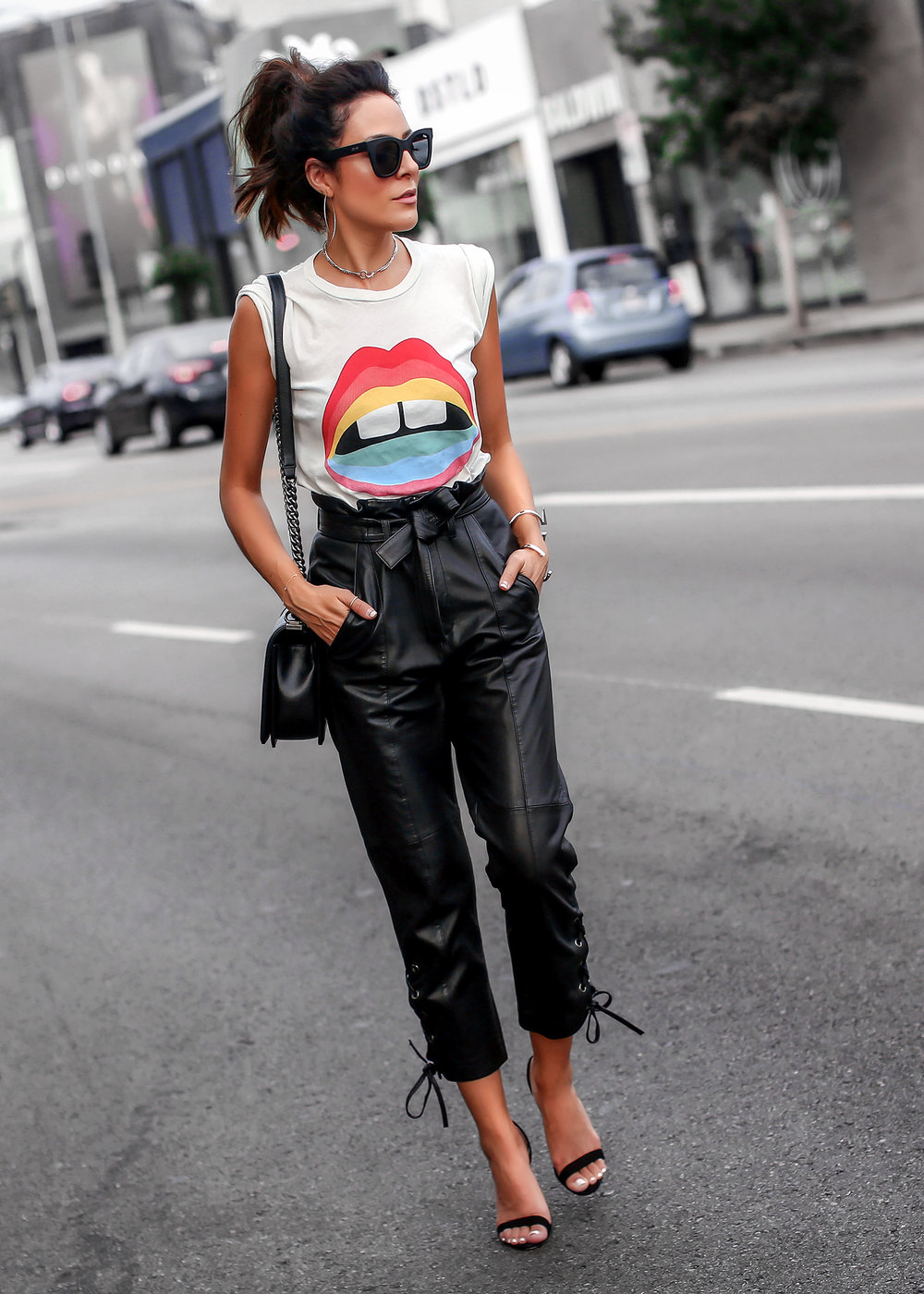 Marissa Webb Leather Pants Lauren Moshi Tee Streetstyle.jpg