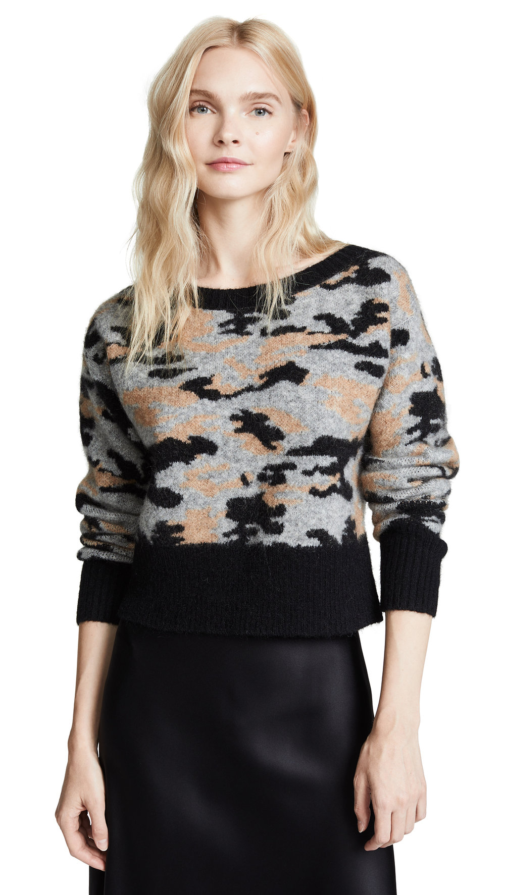 Marissa Webb Camo Sweater