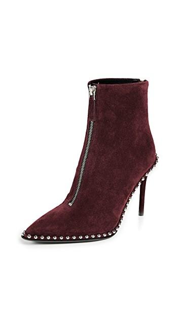 Alexander Wang Burgundy Boots