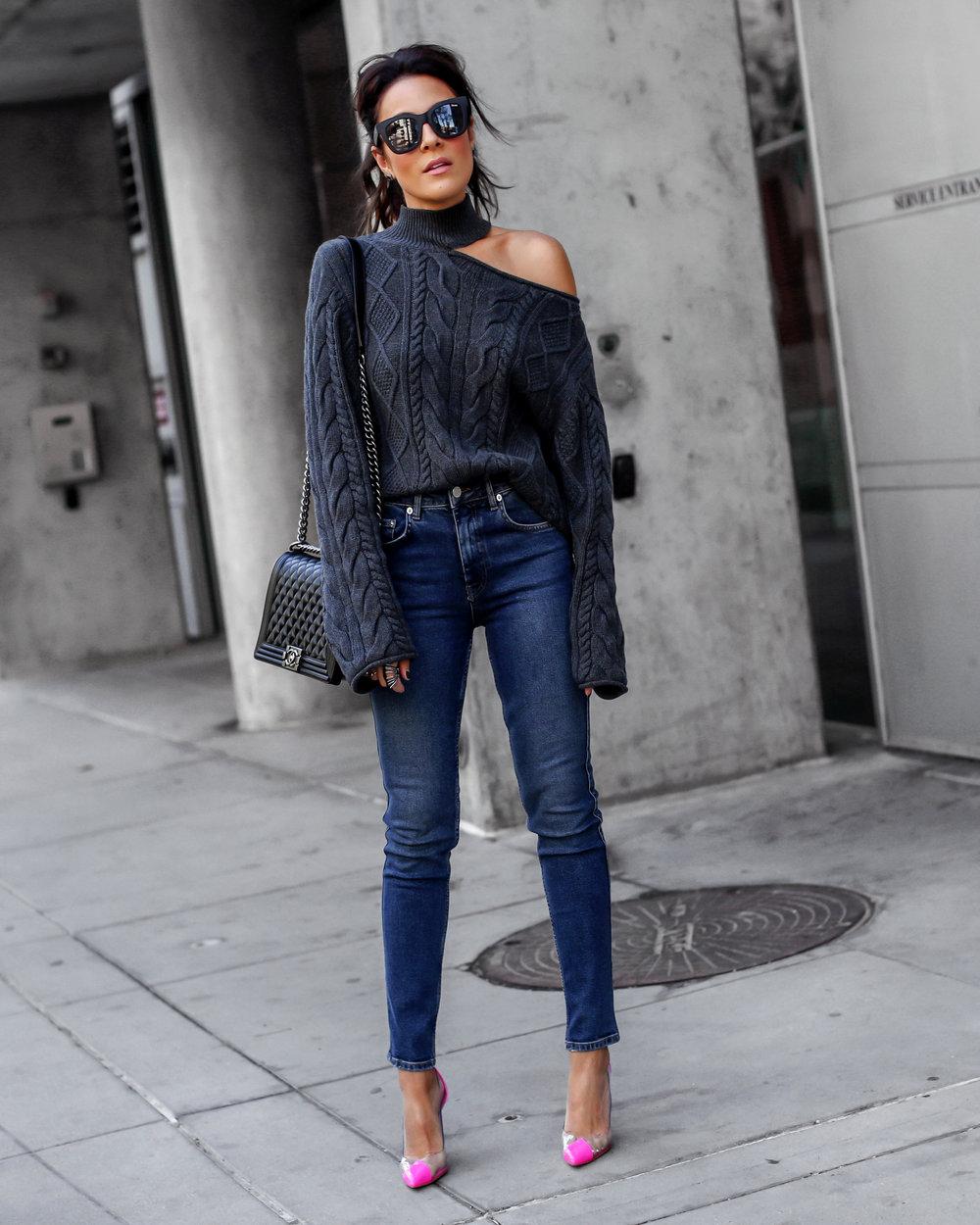 81f283b359d Brunette Woman in RTA Cutout Sweater Anine Bing Jeans.jpg