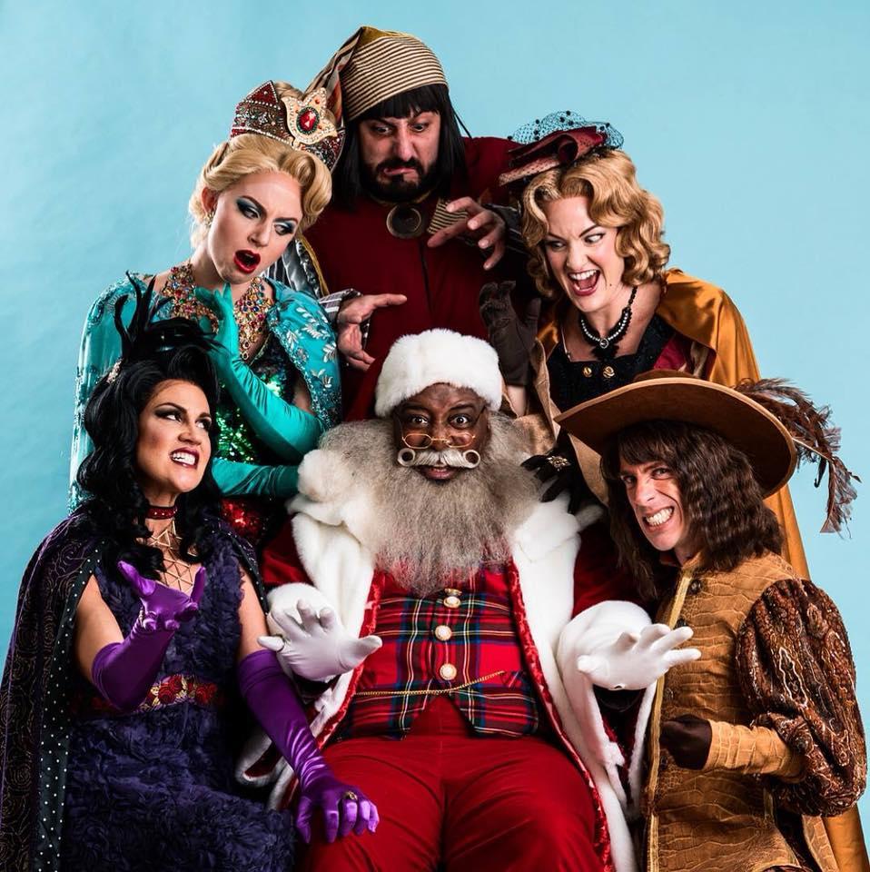 "The cast of ""Fairy Tale Christmas."""