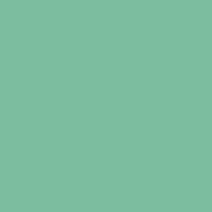 Turquoise  HEX: #80bba1 RGB: 128, 187, 161 CMYK: 52, 8, 44, 0