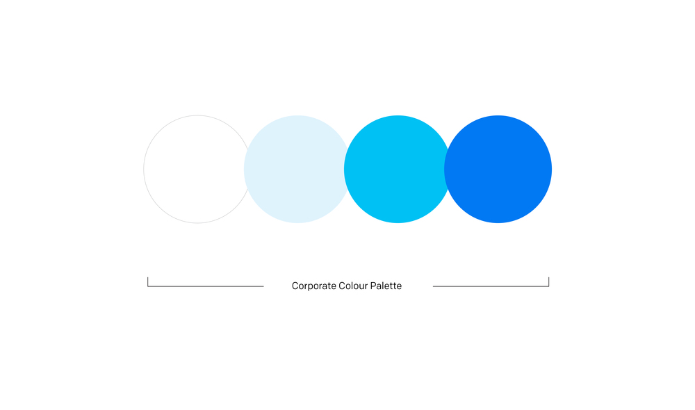 Primary Corporate Palette -  see detailed colour breakdown here