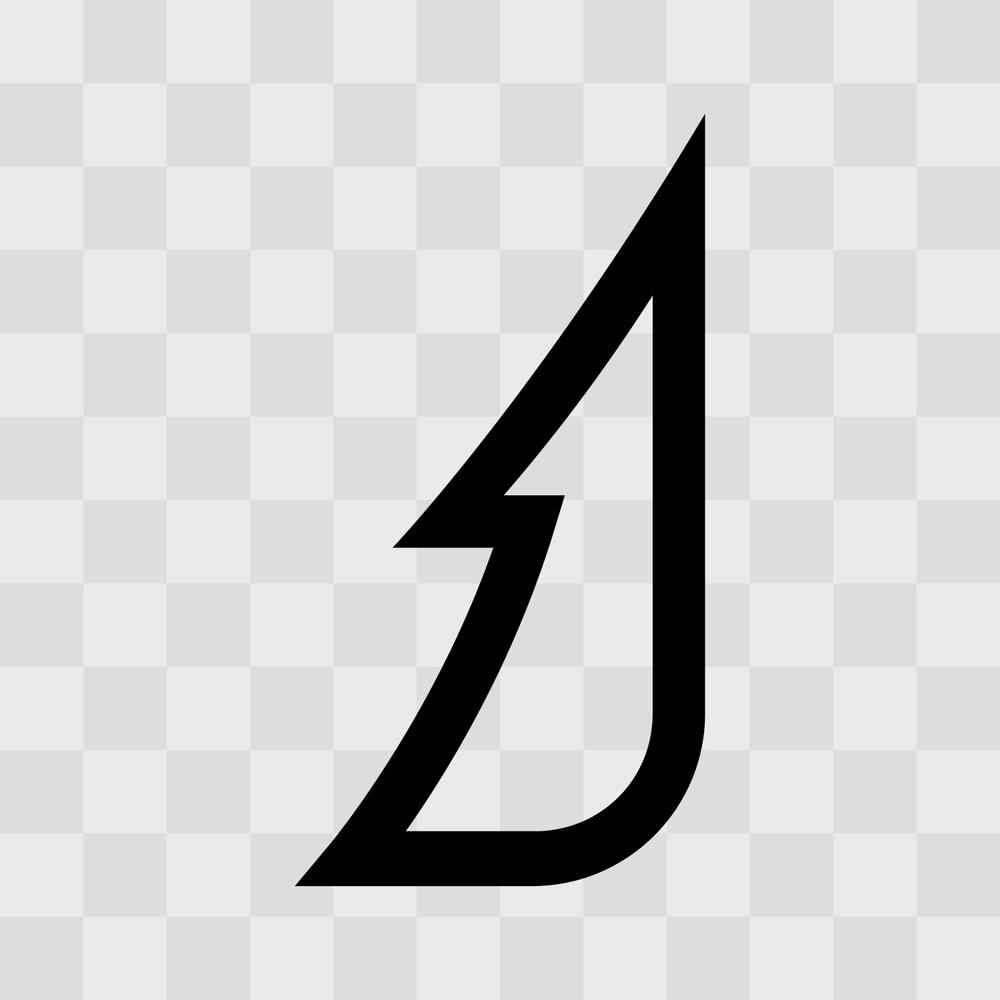 """Jasper """"J"""" Logo (Black)   .png    .eps"""