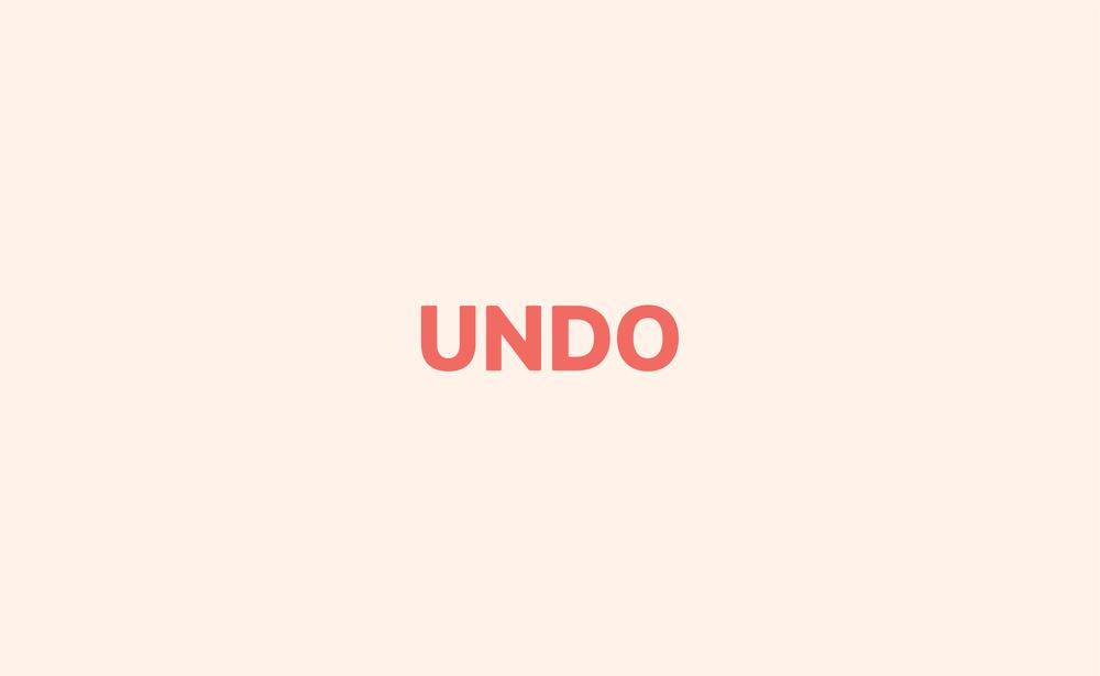 UNDO WORDMARK