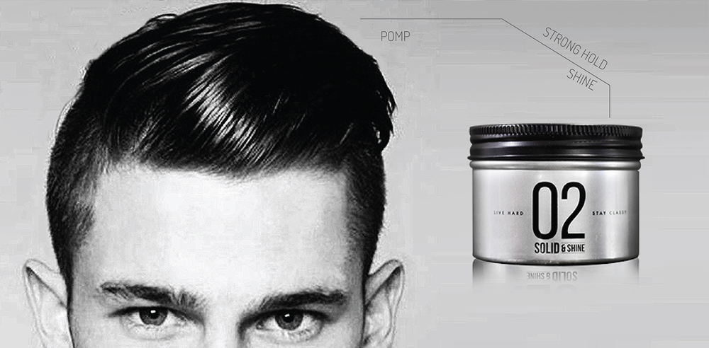 02 solid & shine + tough & tumble + pomade