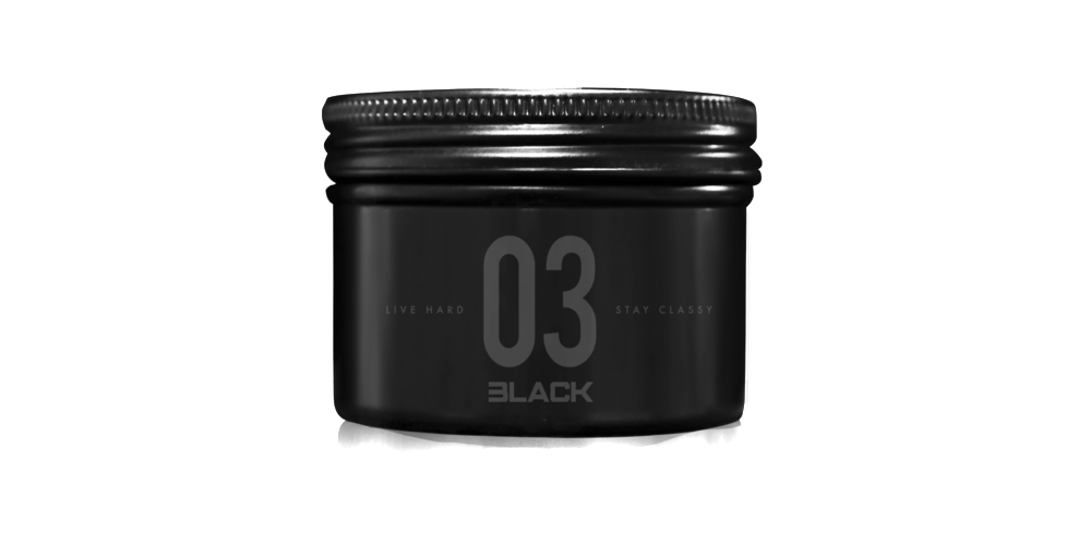 03 Black Lava Pomade + Tough & Tumble