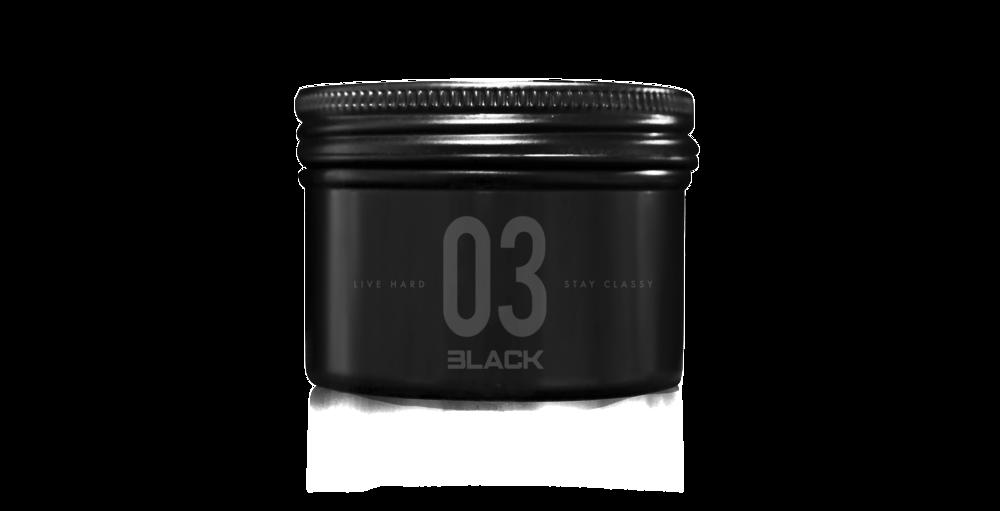 03 Black Lava Pomade + Tough & Tumble