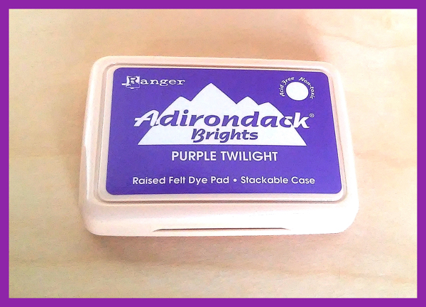 Ranger Adirondack Brights Dye Ink  in Purple Twilight