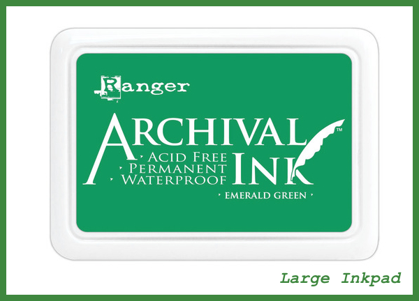 Ranger Archival Ink  in Emerald Green