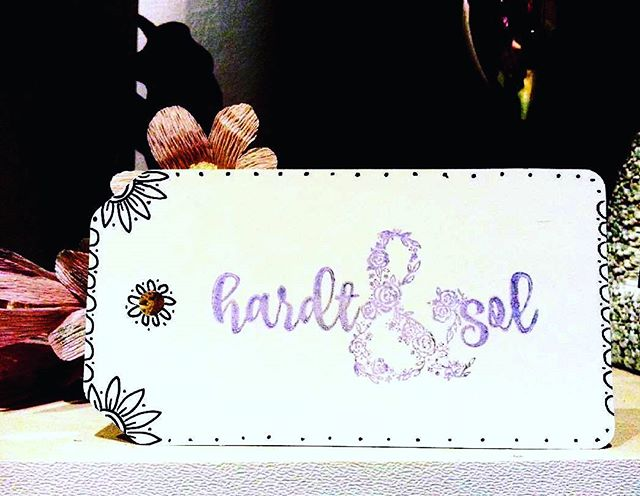 "Aw, kind words from one of my customers @hardtandsol, maker of handmade prettiness for brides: ""Loving my custom stamp from @bluediamondstamps so so much! Any of my maker friends who are in need should definitely check them out"" ❤ . . . . #hardtandsol #bluediamondstampco #bluedstamps #customstamp #logostamp #businessstamp #diypackaging #diywedding #diytags #clearstamps #branding"