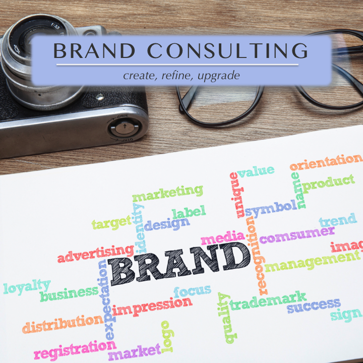 Brand Consulting for organizations of all kinds who want to create new brand identities or refine, pivot, or upgrade their current branding to something that better reflects their vision, purpose, and goals.
