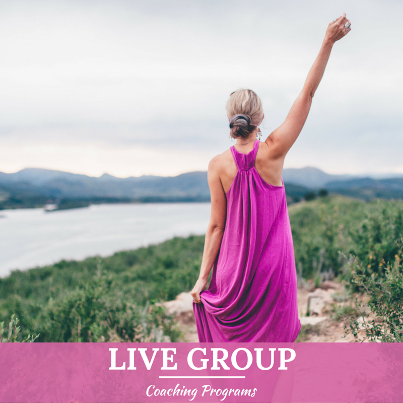 L ive Group Coaching Programs     for those who desire the insight, support, and connection of a group of like-minded women. Pursue abundance, freedom, and ease as part of a community. COMING SOON!