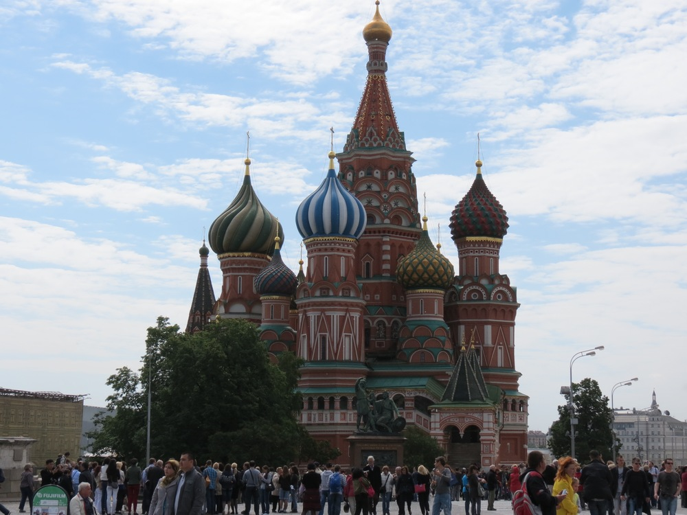 St Basil's - Moscow 2013