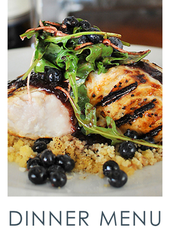 ELA'S is committed to providing the best local fresh market products in the region. Our fish & vegetables arrive daily to offer you the best fresh seasonal items available. Revel in our butcher cut steaks, hand-selected catches of the day, or choose one of our signature seafood dishes such as ELA'S Crab Cakes, Crispy Diamond Scored Flounder, or Pan Roasted Grouper. All alongside beautiful water views and breathtaking sunsets.  View our Dinner Menu